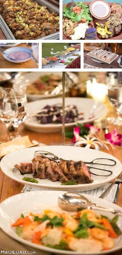 traditional luau cuisine