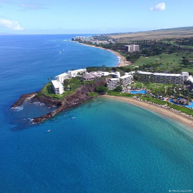 west Maui luau locations