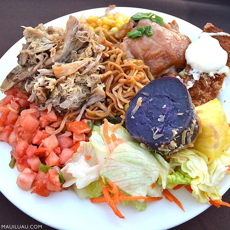 Hawaiian Luau dish